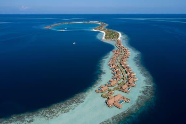 Das Waldorf Astoria Maldives